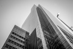 This has to be favourite building in Cape Town its called the  Portside Tower,Its our tallest skyscrapper it's also the first high-rise 5-Star Green Star building in Africa. #architecture #photography #bnw #urban #capetown