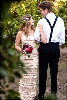 simple wedding dress <3 www.brayola.com