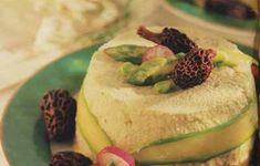 Flan d'asperges aux morilles Flan, Hummus, Tacos, Mexican, Ethnic Recipes, Asparagus, Hot Appetizers, Food, Recipes