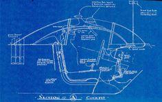 original Barris blueprints for the Batmobile