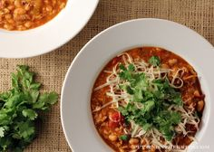 Puttin' on the G.R.I.T.S.: White Bean Chicken Chili