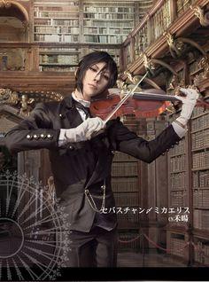 HeYang(禾暘) Sebastian Michaelis Cosplay Photo - WorldCosplay