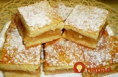 Omlós almáspite - ahogy nagymamáink is készítették Croatian Recipes, Hungarian Recipes, Hungarian Cake, Cake Cookies, Cornbread, Cake Recipes, Muffin, Food And Drink, Sweets