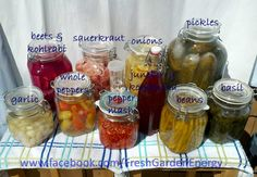 WE CAN PICKLE THAT Easy Brine Veggies! (Best post for newbies - a huge list of anaerobically fermented veggies and a podcast to help you understand the basics of getting started with fermentation) Fermentation Recipes, Canning Recipes, Probiotic Foods, Fermented Foods, Veggie Recipes, Real Food Recipes, Healthy Recipes, Simple Recipes, Meal Recipes