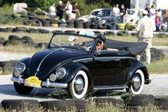 Ignatios Doukakis, of Athens, Greece. His 1950 Black Paint VW Beetle Cabriolet. He can be joined on Facebook at: https://www.facebook.com/ignatios.doukakis