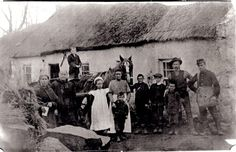 1895 Bellaghy Derry (Ireland).  Postman on far right.  Photo from Fb site Ireland of a Thousand Welcomes.
