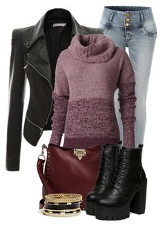 Untitled #869 by mkomorowski on Polyvore featuring polyvore, fashion, style, Royal Robbins, LE3NO, Valentino and GUESS