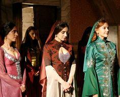 Muhtesem Yuzyil Dress, Hurrem Sultan,Mahidevran Sultan,Gulfem Sultan