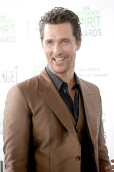 Matthew McConaughey at the Spirit Awards