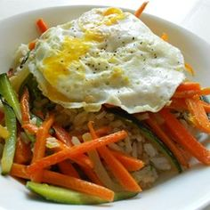 Vegetarian Bibimbap Allrecipes.com