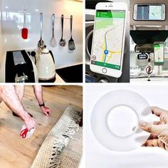 Sticky Nano Tape – 3 m Tape, House, Automobile, Home, Homes, Band, Houses, Ice