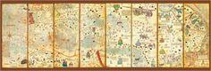 Puzzle Mapa 1374 Abraham Cresques ( Ref:  0000016355 )