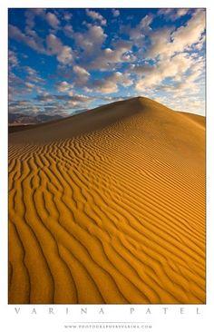 Sand Dunes in Death Valley National Park, photographybyvarina.com