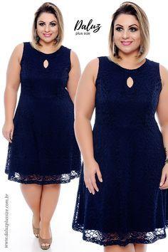 Vestido Plus Size Pocema -  Coleção Vestidos Plus Size - @daluzplussize