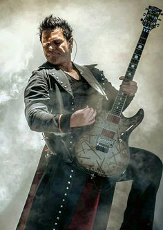 Rammstein- Richard Kruspe. He's such a badass guitar player. ROCK ON!