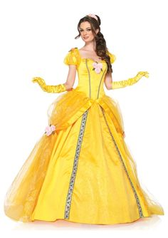 Deluxe Belle Disney Princess Costume
