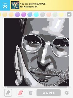 Apple drawing from Draw Something