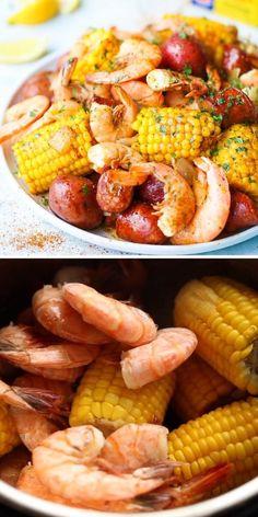Healthy Pressure Cooker Recipes, Slow Cooker Recipes, Pressure Cooker Meatballs, Easy Pressure Cooker Recipes, Seafood Boil Recipes, Shrimp Recipes, Cold Dip Recipes, Instant Pot Pasta Recipe, Instant Pot Dinner Recipes