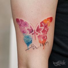 Cherry blossom butterfly :) - #타투 #그라피투 #타투이스트리버 #디자인 #그림 #디자인 #아트 #일러스트 #tattoo…