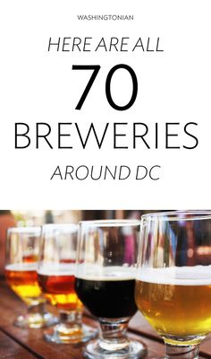 Are 70 Breweries Around Washington. Here's a Map. FUN FACT: DC has the second-most breweries of any East Coast metropolitan area Distillery, Brewery, Mid Atlantic States, Washington Dc Travel, Future Travel, Weekend Trips, Foodie Travel, Back Home, East Coast