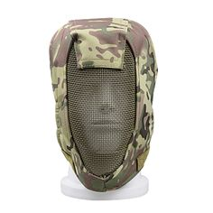Military enthusiasts outdoor self-defense items, half face wire mask, WG shooting field protective mask
