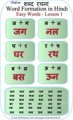 Read Hindi - 2 letter word sentences | भरत | Pinterest | Words ...