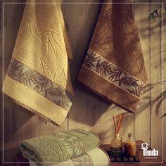 ;) Depois de um banho quentinho, do que você precisa? De uma toalha quentinha, macia, pra tornar ainda mais especial esse momento que, naturalmente, é um dos mais importantes da sua rotina!