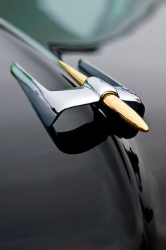 1953 Lincoln Capri Derham Coupe Hood Ornament by Jill Reger