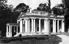 The first Florida Governor's Mansion soon after construction in Tallahassee (ca. 1906). | Florida Memory