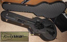 Rock n' Load AR15 Rifle & Pistol Guitar Shaped Case