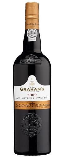 Graham's Late Bottled Vintage 2009 is een donkerrode Port met bijzondere aroma's van bloemen, zwarte bessen en munt. De wijn is mooi in balans en bevat rijke en zoete smaken. Heerlijk bij kazen, nootjes of gedroogd fruit na de maaltijd