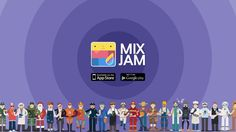 Flap's Mixjam is available on both iOS and Android.  Find Mixjam on App Store and Google Play Store.