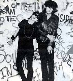 Marc Almond and David Ball of Soft Cell
