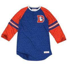 Nike Detroit Lions 50-Yard Line Tri-Blend T-Shirt - Light Blue