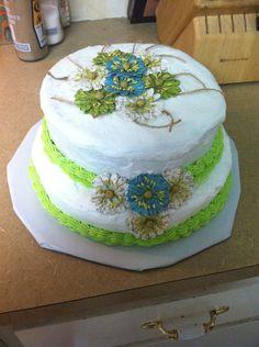 Sarah wedding shower cake