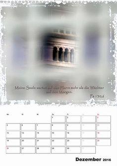 Kalender - Christliche Monatssprüche - Dezember