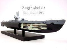 German Type IX Submarine U-181 1/350 Scale Diecast Metal Model by Atlas