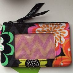 Vera Bradley Coin Purse Vera Bradley Coin Purse & Card Holder. New With Tags - Never used. Vera Bradley Accessories