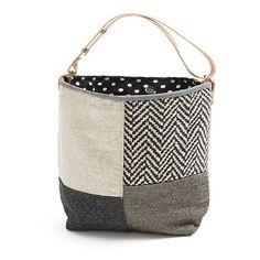 Secchio secchio di Bizet sacchetto sacchetto di tela spalla