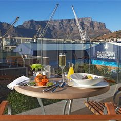 I chose this recipe just because of beautiful Table Mountain, Cape Town, in the back ground.