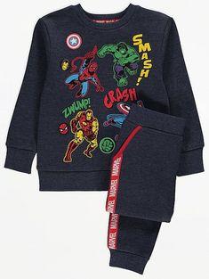Lasten Marvel Avengers collegeasu Marvel Avengers, Hulk, Iron Man, Graphic Sweatshirt, Sweatshirts, Sweaters, Design, Fashion, Moda