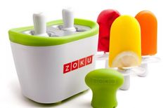 Zoku Duo Quick Pop Maker, to create ice pops in 7 min!