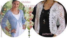 Materiales gráficos Gaby: Abrigos en crochet paso a paso