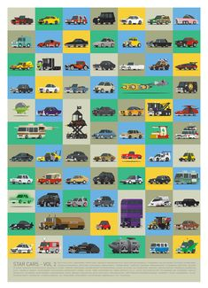 How many of these famous movie and TV cars can you recognize? Vol. 2