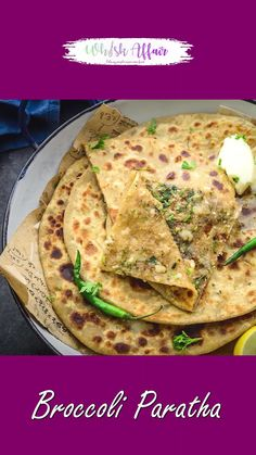 Indian Diet Recipes, Spicy Recipes, Cooking Recipes, Brocolli Recipes, Broccoli, Chapati Recipes, Paneer Dishes, Stuffed Bread, Vegetarian Breakfast Recipes