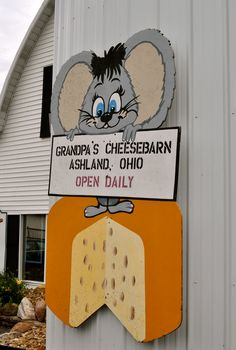 GRANDPAS CHEESEBARN...oh the childhood memories, visiting my grandparents and going here!!!  Yesss!!