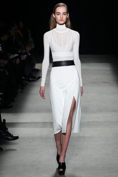 Narciso Rodriguez Fall/Winter 2015   NYFW   www.colorful-greyscale.com