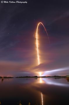 Astrophotographer Mike Killian took this stunning photo from Cape Canaveral Air Force Station in Florida Aug. 24, 2012.