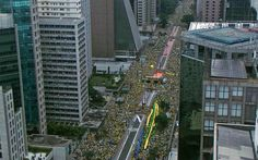 Um só Povo Uma só Voz  Tchau Dilma