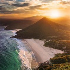 Zenith Beach in NSW, Australia. Photo by Rhys Pope